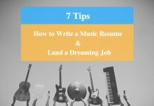 How To Write Music Resume