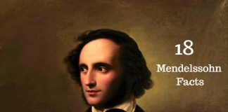 Felix Mendelssohn Facts
