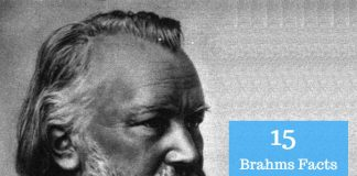 Johannes Brahms Facts