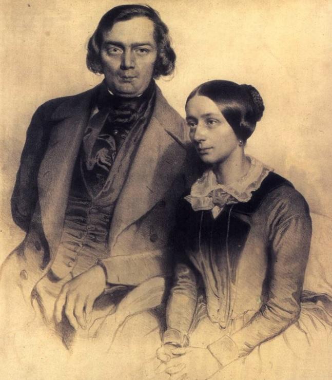Robert & Clara Schumann