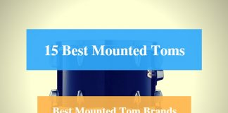 Best Mounted Tom, best Rack Tom & Best Mounted Tom Brands