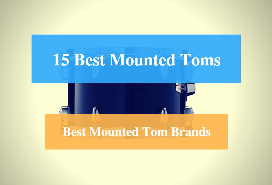 Best Mounted Tom, best Rack Tom & Best Mounted Tom Brands