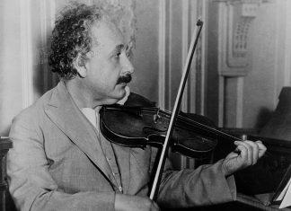 Albert Einstein Violin