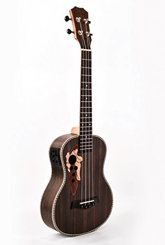 Caramel CB500 30 Inch All Rosewood Baritone Acoustic Electric Ukulele