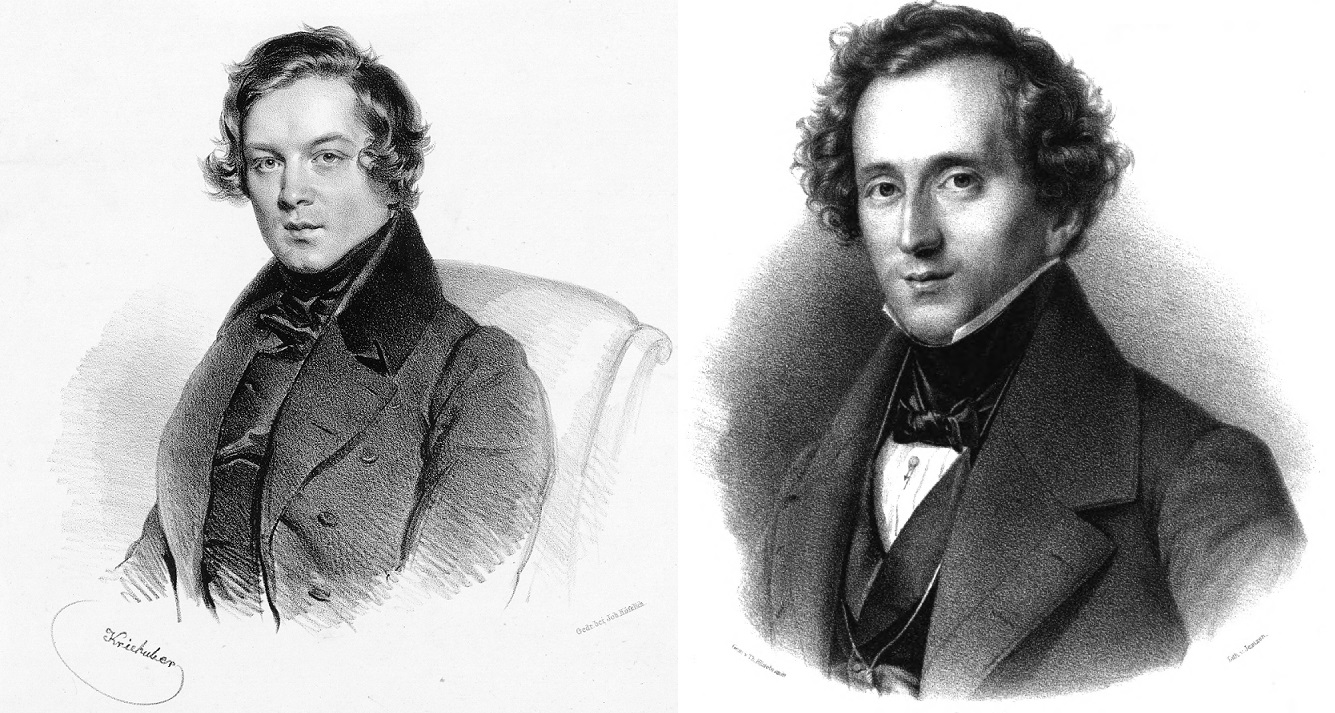 Schumann and Mendelssohn