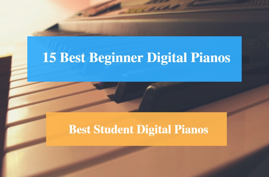 Best Digital Piano for Beginner & Best Student Digital Piano