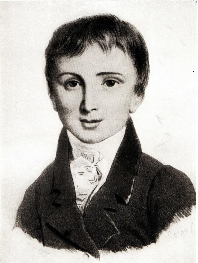 Young Franz Liszt