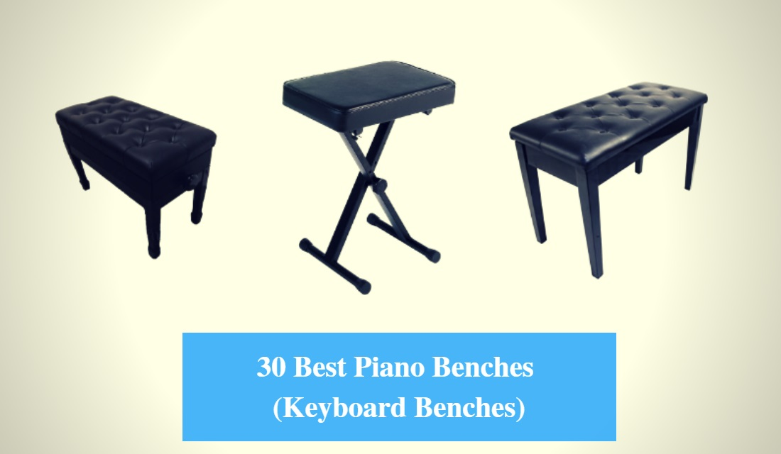 Astounding 30 Best Piano Bench Reviews 2019 Best Keyboard Bench Cmuse Short Links Chair Design For Home Short Linksinfo