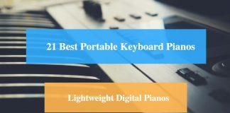 Best Portable Keyboard Piano & Best Lightweight Digital Piano