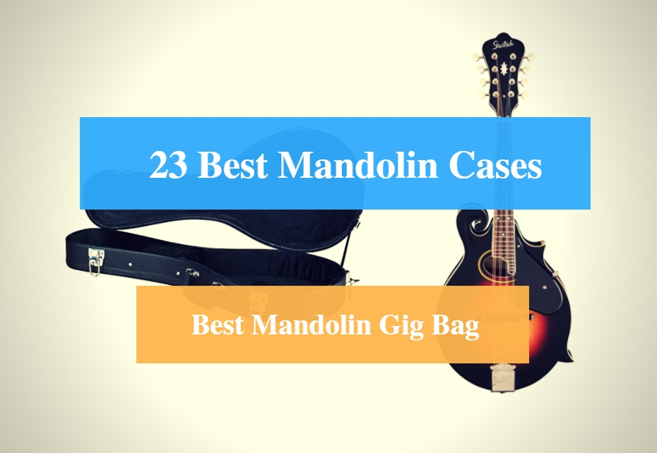Best Mandolin Case, Best Mandolin Gig Bag & Best Mandolin Case Brands
