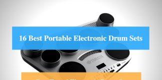 Best Portable Electronic Drum Set Pad, Best Travel Electronic Drum Set & Best Portable Electronic Drum Set Brands