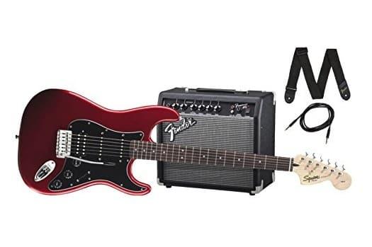 Squier by Fender Stratocaster Beginner Electric Guitar Pack