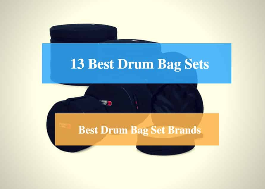 Best Drum Bag Set, Best Drum Hardware Case & Best Drum Set Case