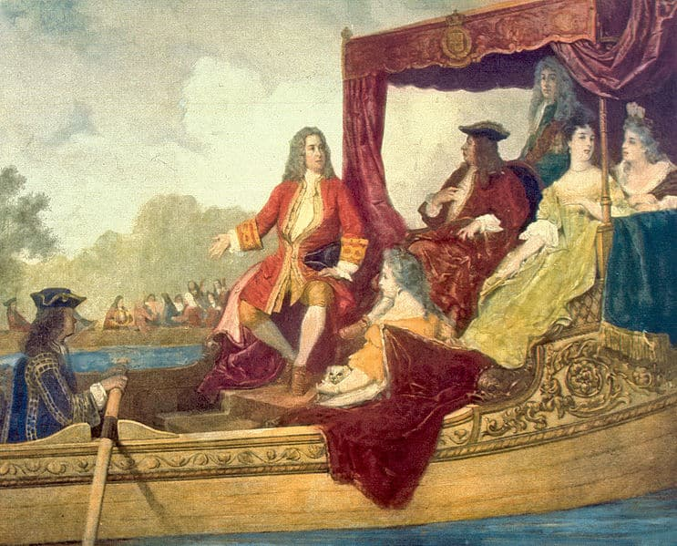 Handel and King George