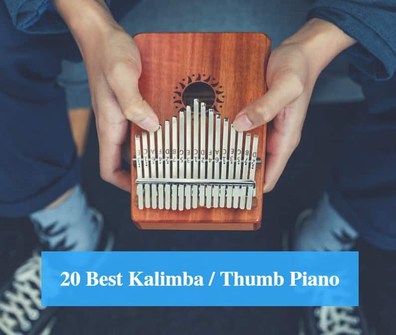 Kalimba,Eison Kalimba Thumb Piano 17 keys with Case Bag Key Stickers Cloth bag Instruction Tune Hammer African Finger Piano Kit Solid Wood Mahogany Body- Best Gift for Music Fans Adult Kids