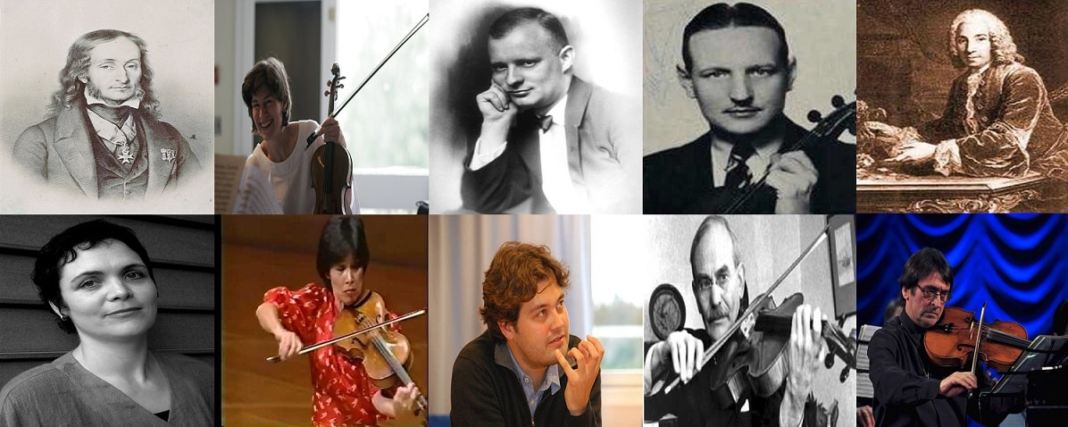 Famous Viola Players