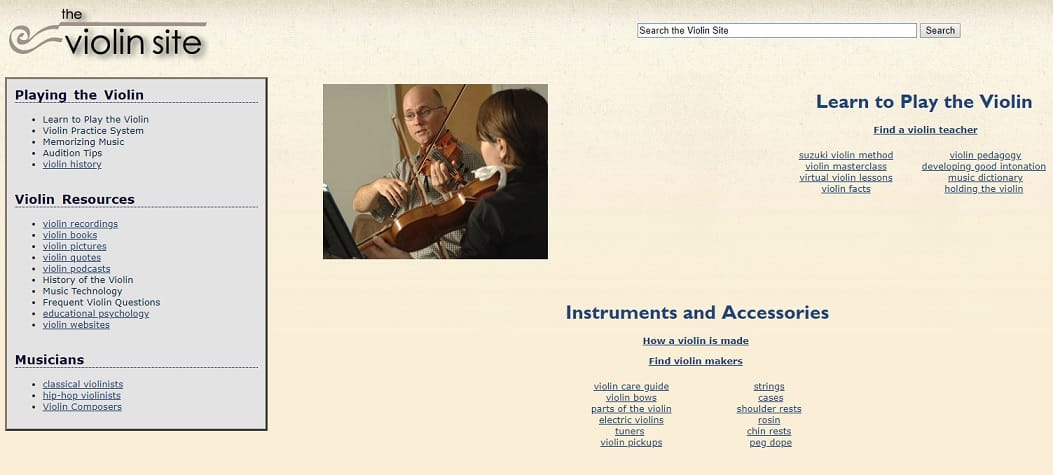 theviolinsite Learn Violin Online