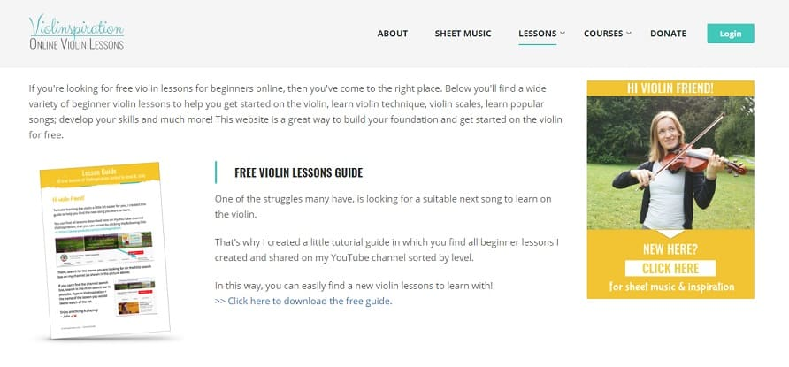 Violinspiration Learn Violin Online