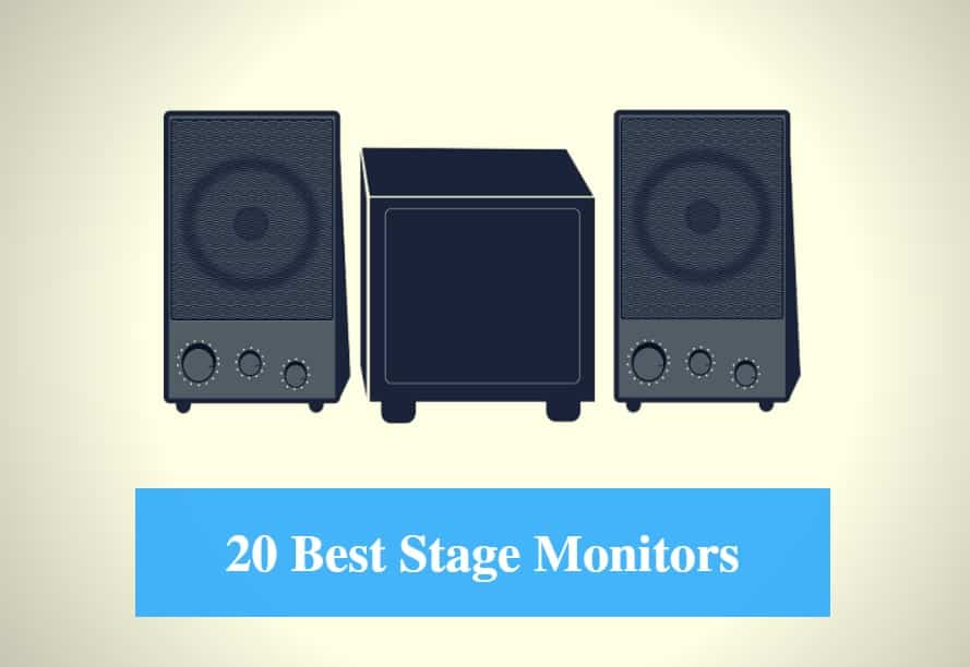 20 Best Stage Monitor Speaker Reviews 2019 - CMUSE