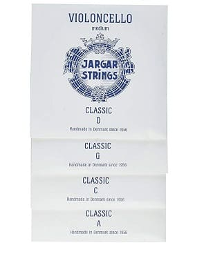 Jargar Cello SET CLASSIC Coated Steel Strings