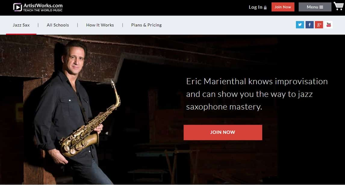 ArtistWorks Eric Marienthal Saxophone Lessons Review