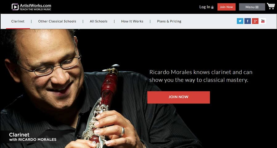 artistworks Learn Clarinet Online