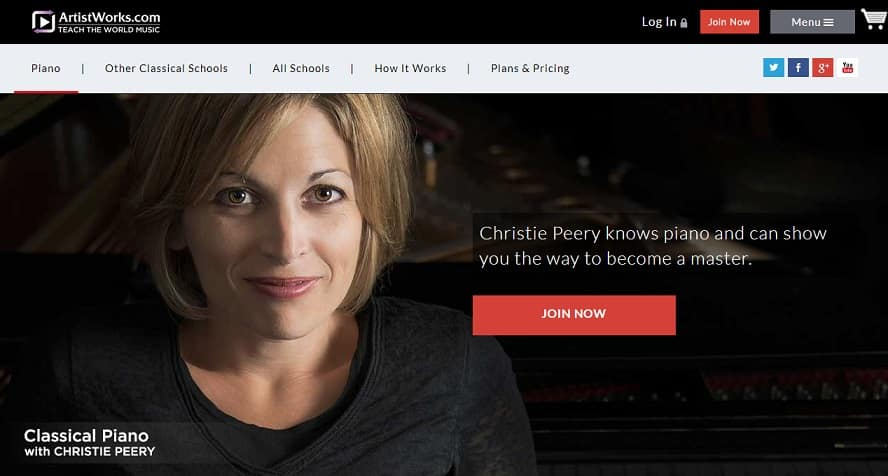 artistworks learn classical piano online