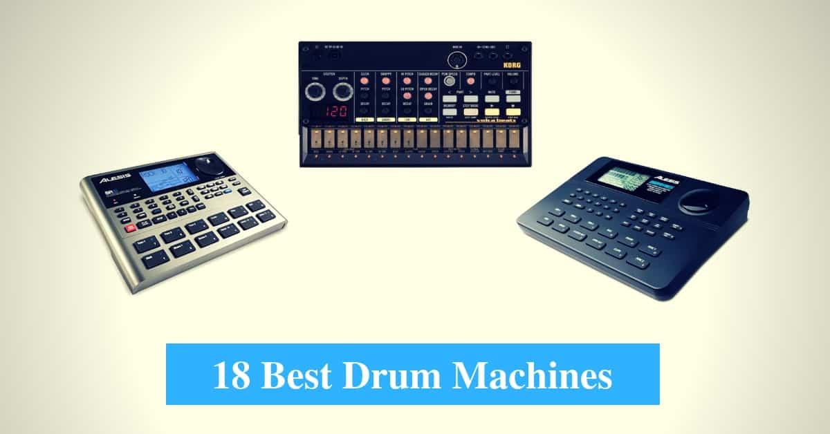 Best Drum Machine & Best Drum Machine Brands