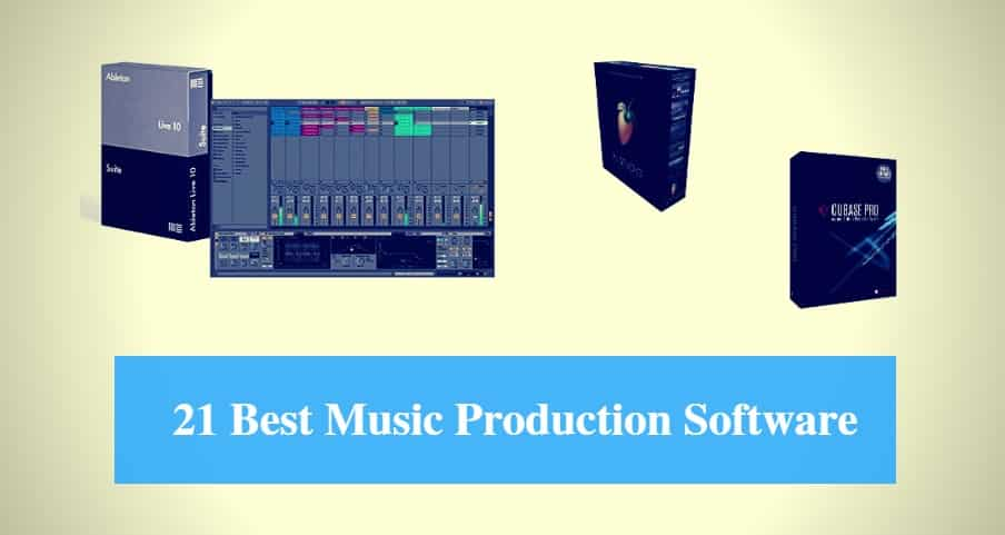 Best Music Production Software & Best DAW Software Reviews