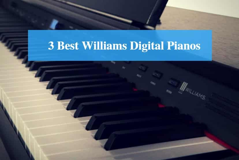 Best Williams Digital Piano & Best Williams Keyboard