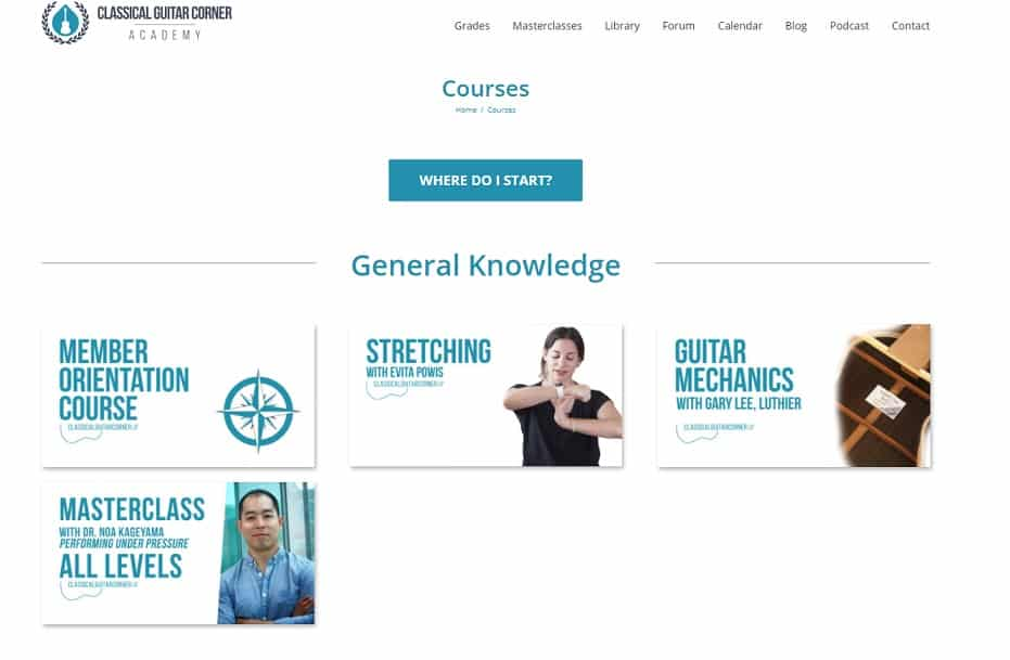 classical.guitarcorneracademy Learn Classical Guitar Online