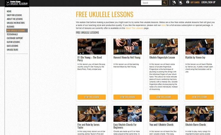 22 Websites To Learn Ukulele Lesson Online Free And Paid Ukulele