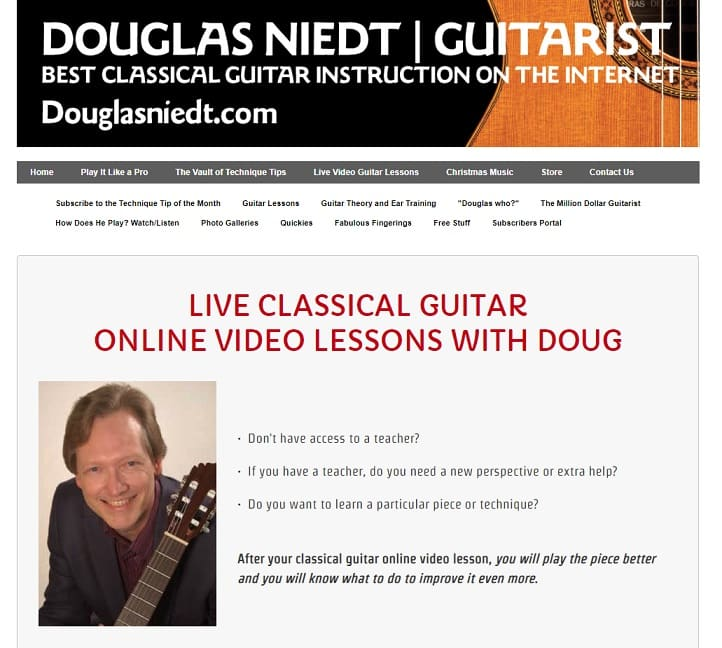 douglasniedt Learn Classical Guitar Online