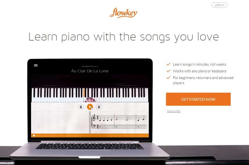 flowkey learn classical piano online