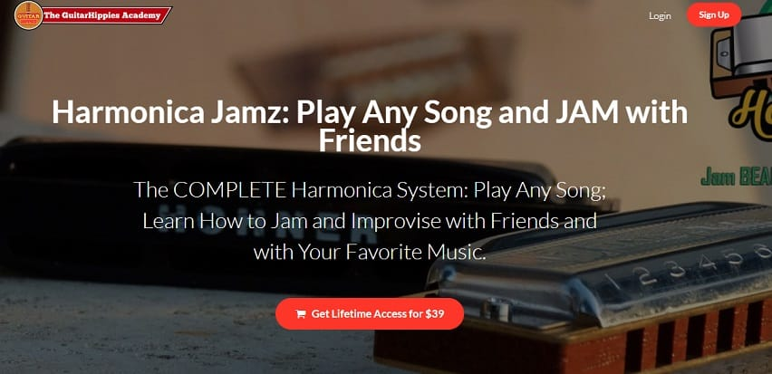 guitarhippiesacademy learn harmonica online