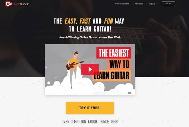guitartricks Learn Classical Guitar Online