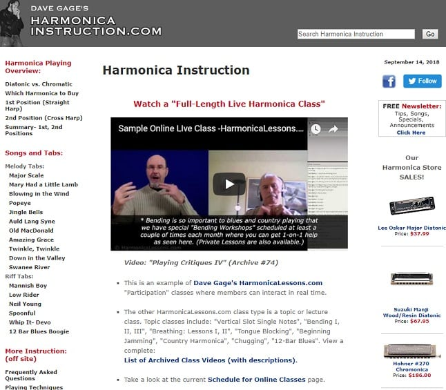 harmonicainstruction learn harmonica online