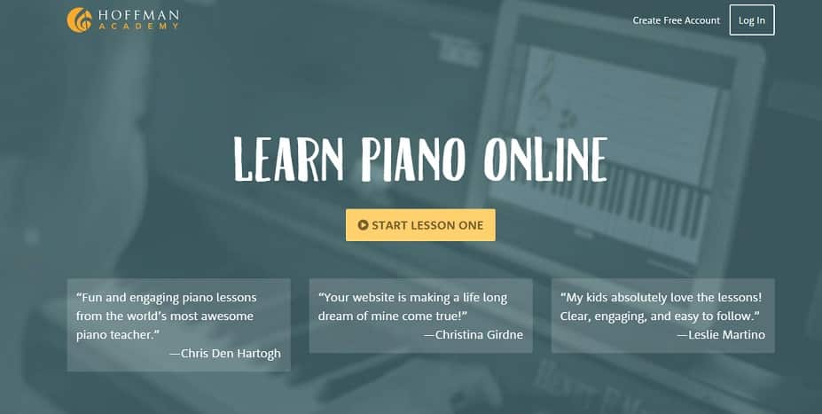 hoffmanacademy learn classical piano online