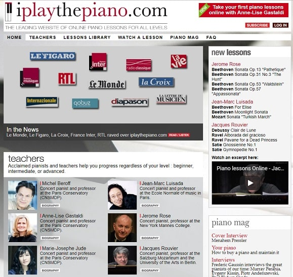 iplaythepiano learn classical piano online