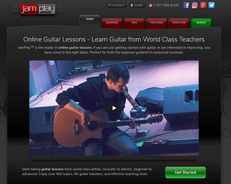 jamplay Learn Classical Guitar Online