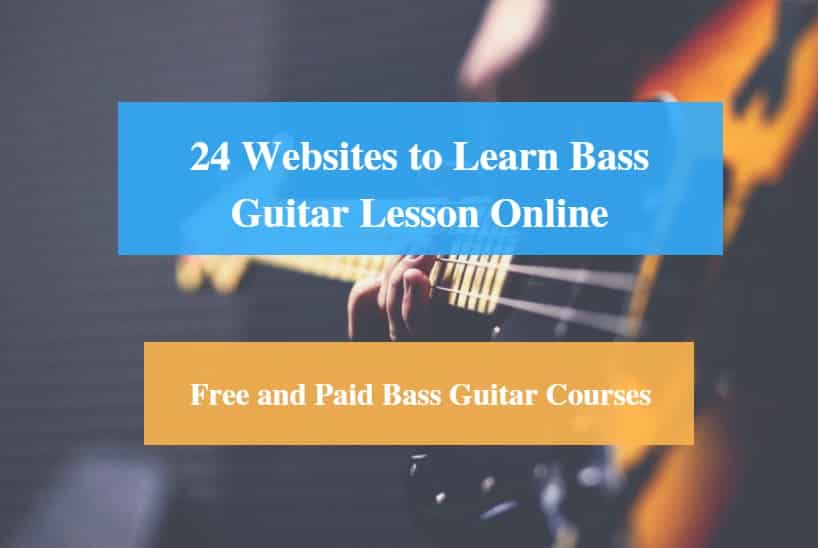 Learn Bass Guitar Lesson Online, Free and Paid Bass Guitar Courses