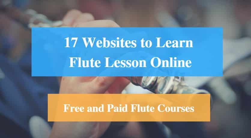Learn Flute Lesson Online, Free and Paid Flute Courses