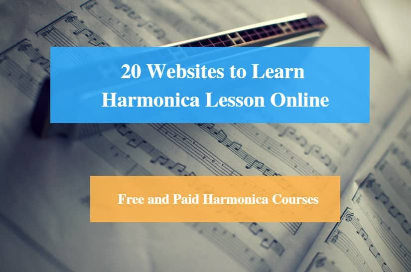 Learn Harmonica Lesson Online, Free and Paid Harmonica Courses
