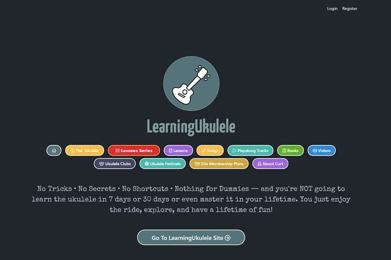 learningukulele learn ukulele online