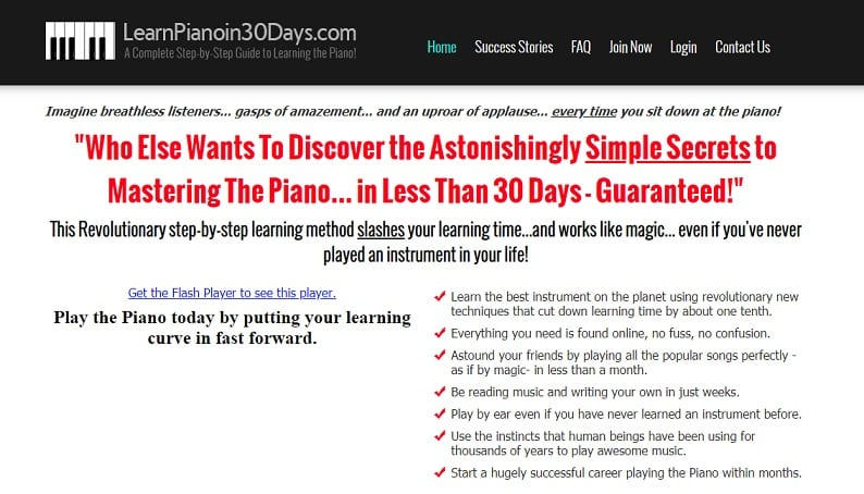 learnpianoin30days learn classical piano online