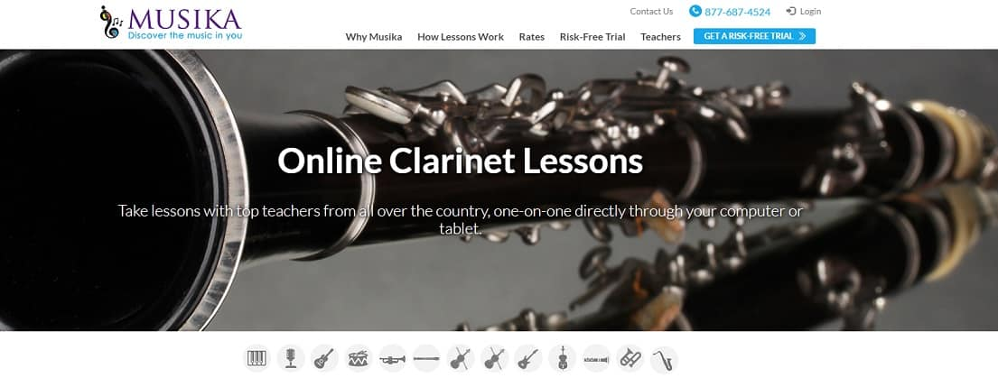 musikalessons Learn Clarinet Online