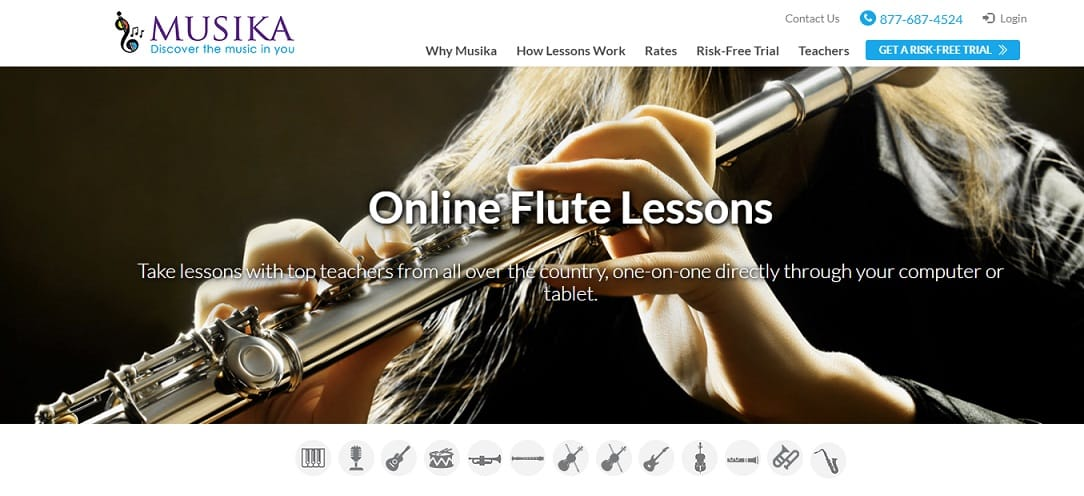musikalessons Learn Flute Online