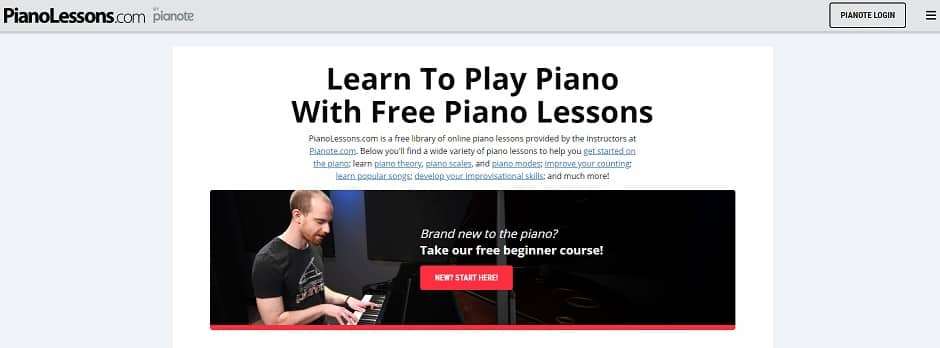 pianolessons learn classical piano online
