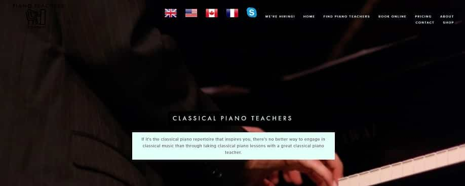 pianoteachersconnect learn classical piano online