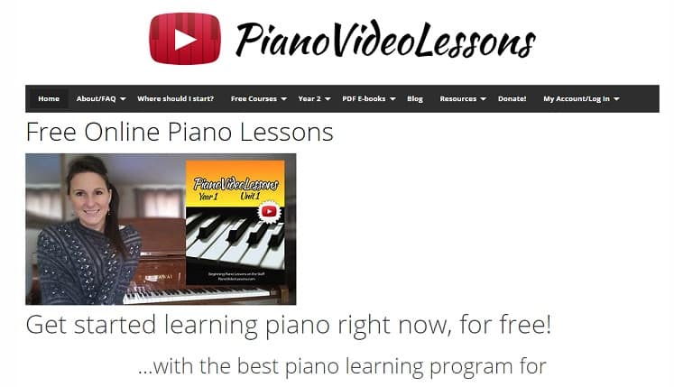 pianovideolessons learn classical piano online